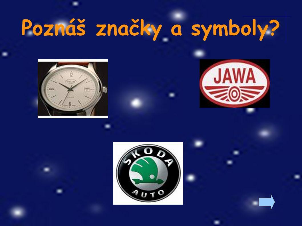Poznáš značky a symboly?