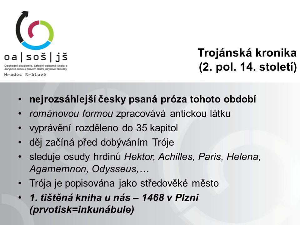 Trojánská kronika (2. pol. 14.