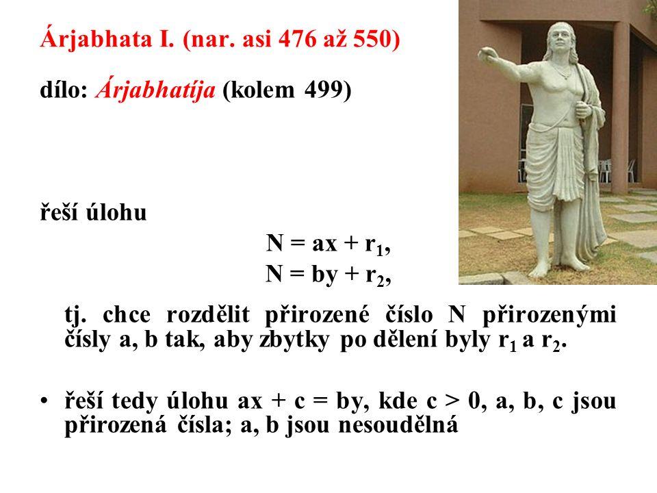 Árjabhata I.(nar.