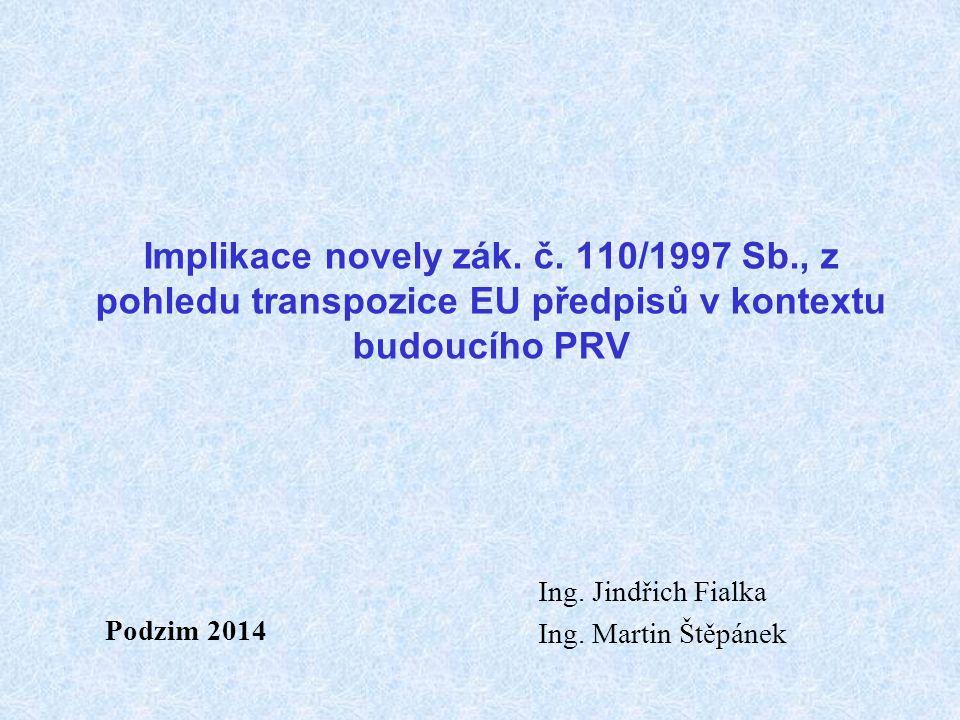 Implikace novely zák. č.