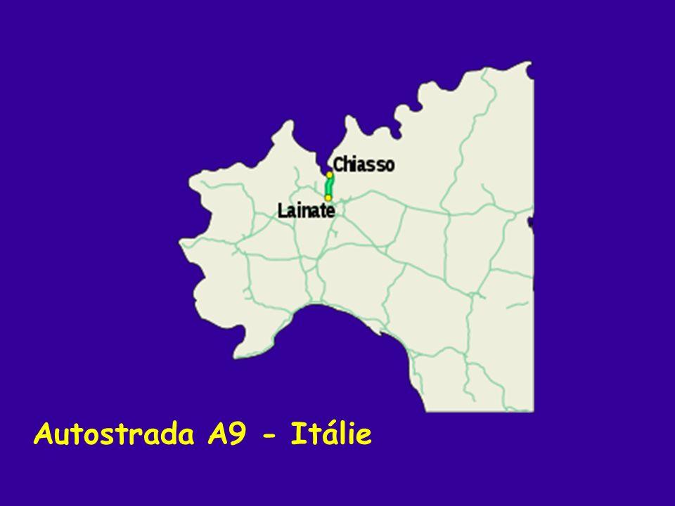 Autostrada A9 - Itálie