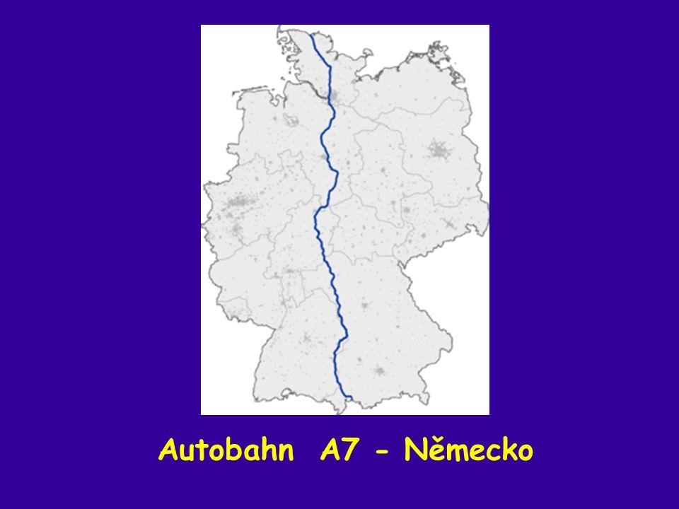 Autobahn A7 - Německo