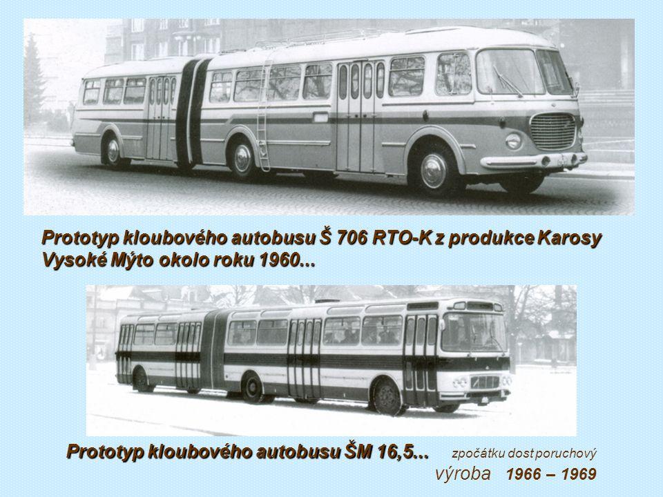 Kloubové a speciální autobusy, přívěsy