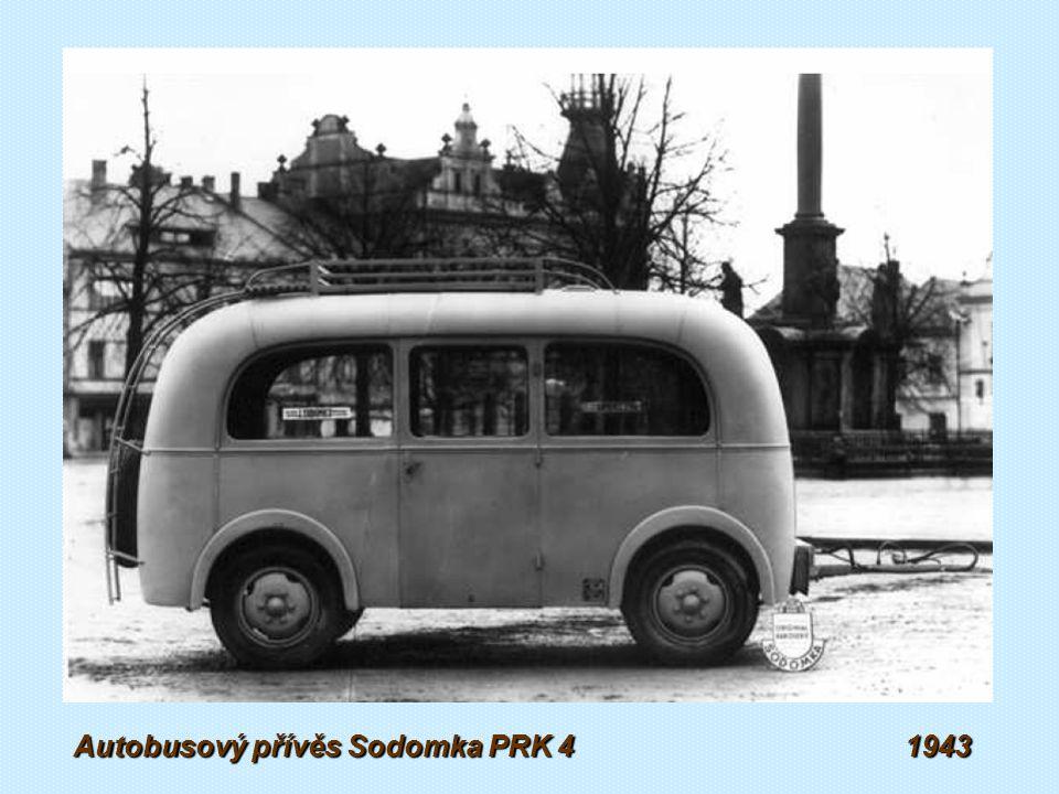 Autobusový přívěs Sodomka RPA 1938