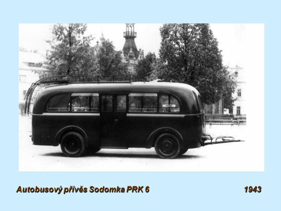 Autobusový přívěs Sodomka PRK 4 1943