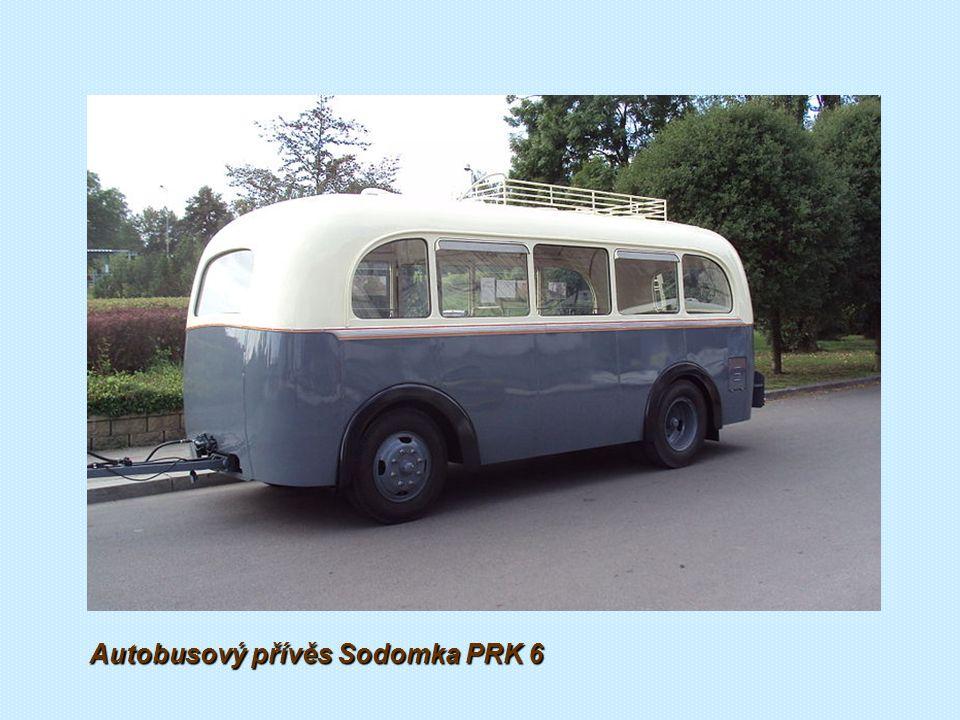 Autobusový přívěs Sodomka PRK 6 1943