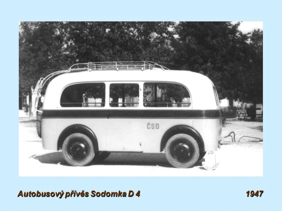 Autobusový přívěs Sodomka PRK 6