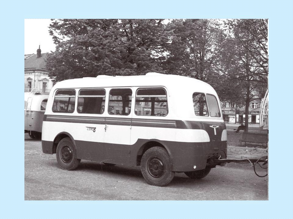 Autobusový přívěs Karosa B 40 Rok výroby: 1958 Výrobce: Středočeské strojírny, n.p., Letňany