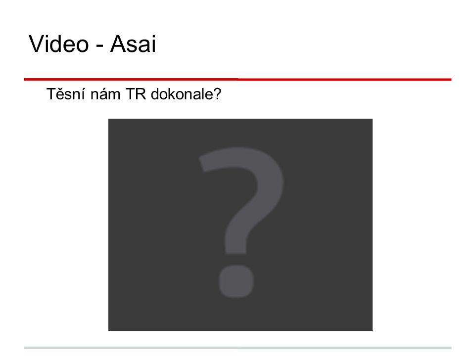 Video - Asai Těsní nám TR dokonale