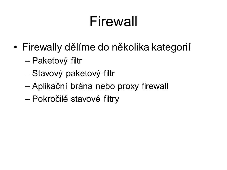 Lokální firewall – Windows 7