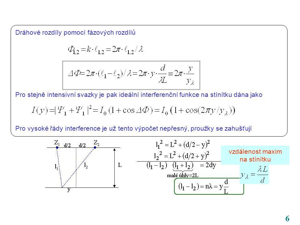 37 Kalibrační invariance 1.druhu Složitý název pro jednoduchou věc.
