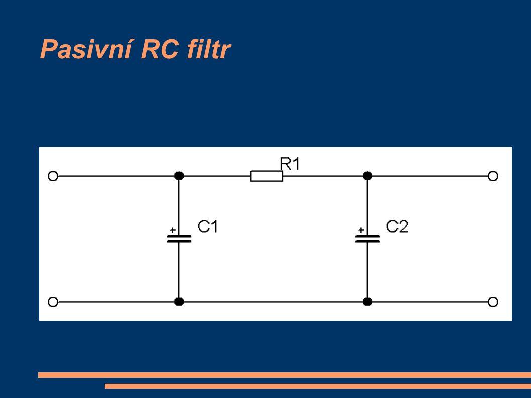 Pasivní RC filtr