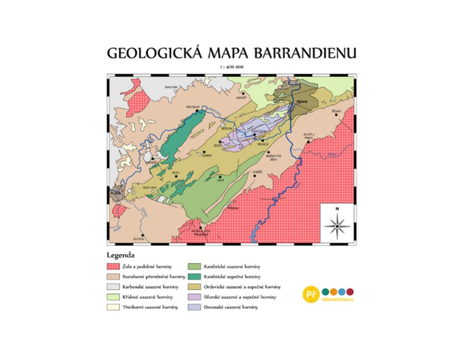 Otázky: Na úvodním obrázku je pohled na Barrandovu skálu – víš, jakým způsobem tyto struktury vznikly.