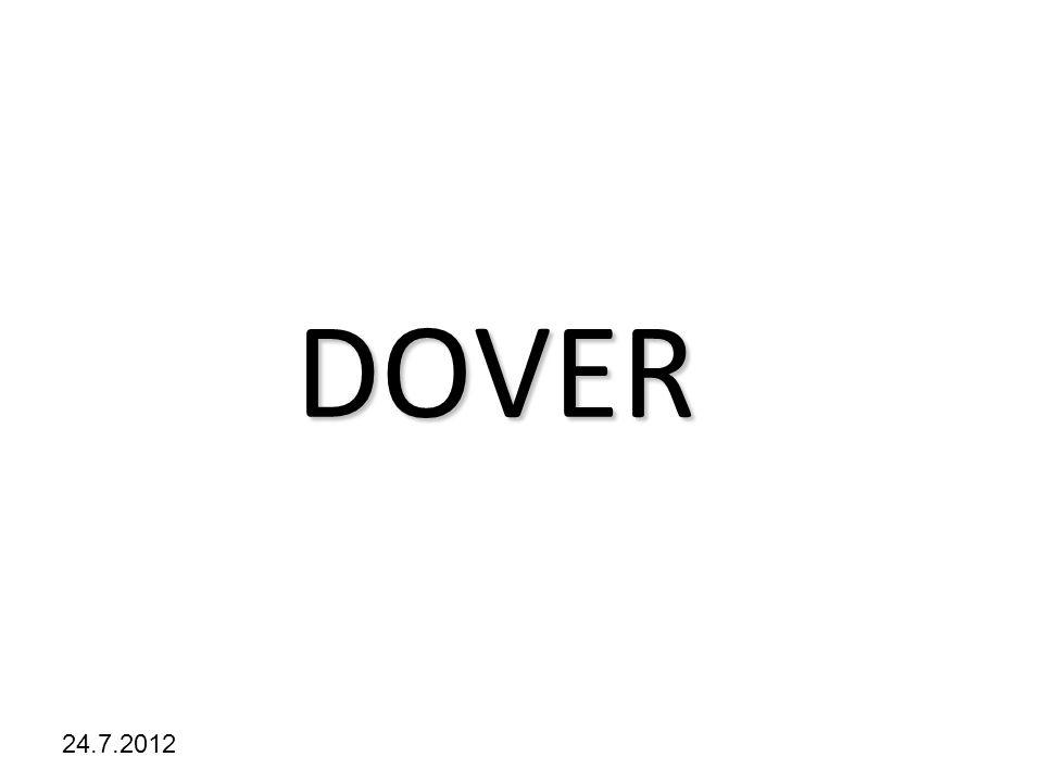 Kliknutím lze upravit styl předlohy. 24.7.2012 DOVER