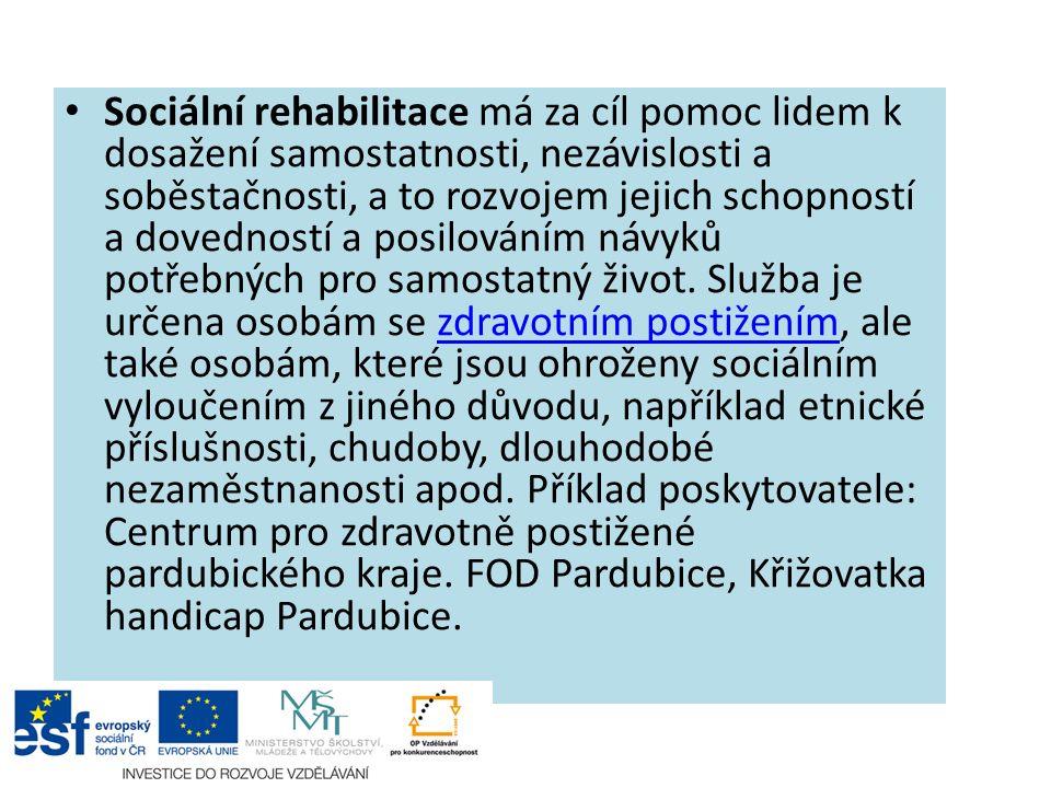 Zdroje: www.mpsv.cz http://iregistr.mpsv.cz www.finance.cz