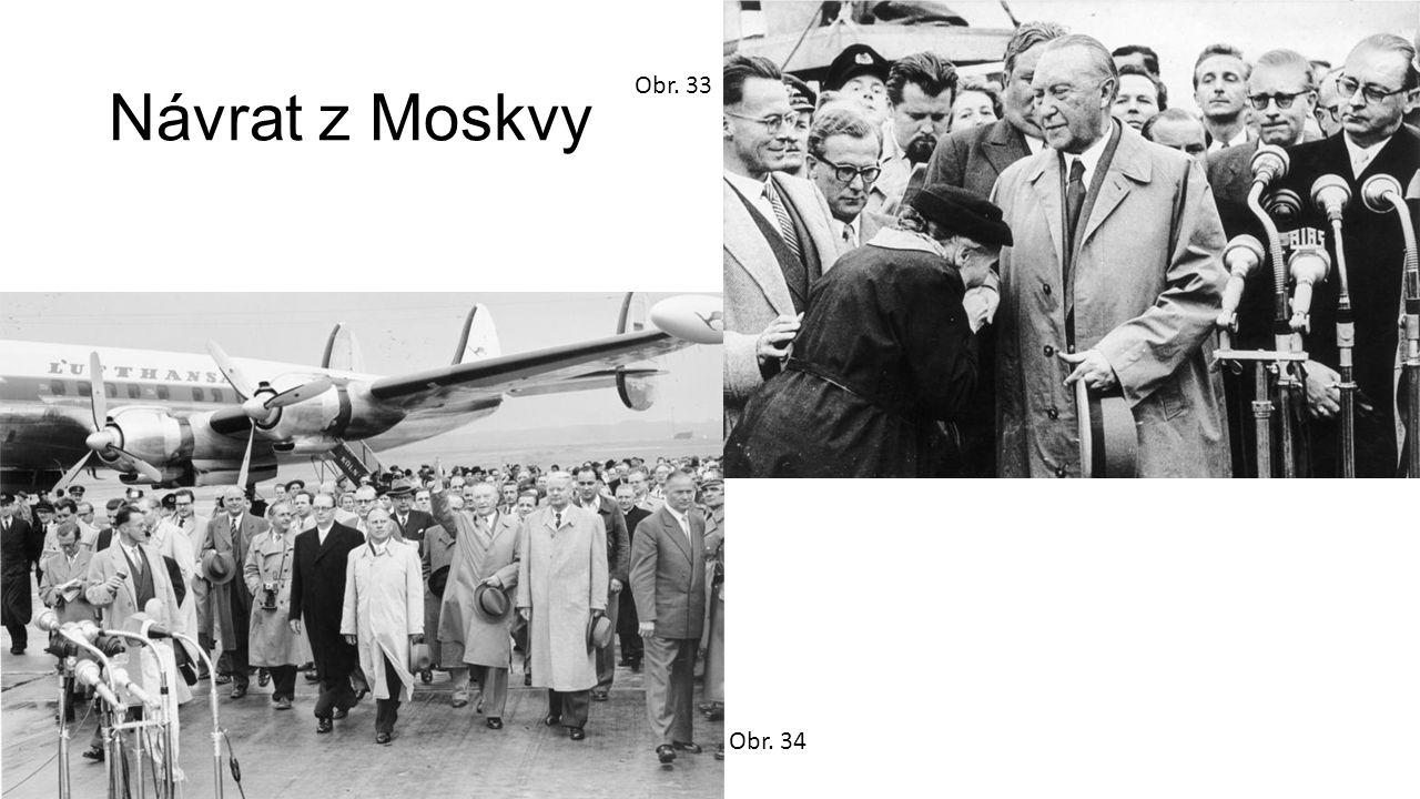 Návrat z Moskvy Obr. 33 Obr. 34