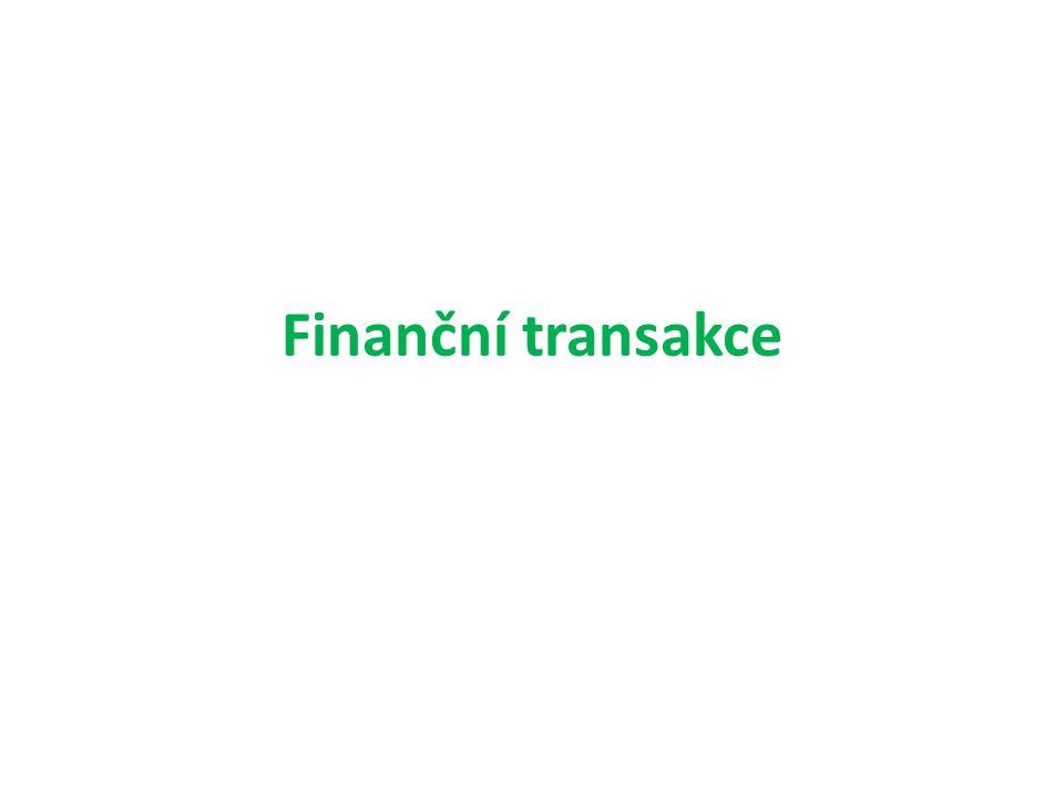 Finanční transakce