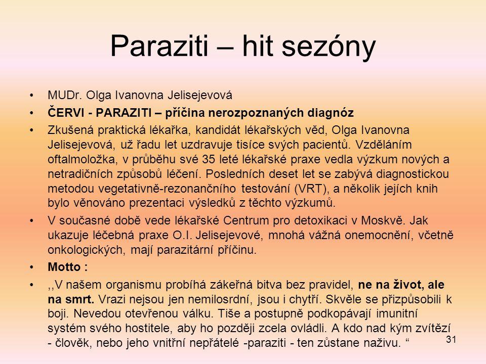 Paraziti – hit sezóny MUDr.