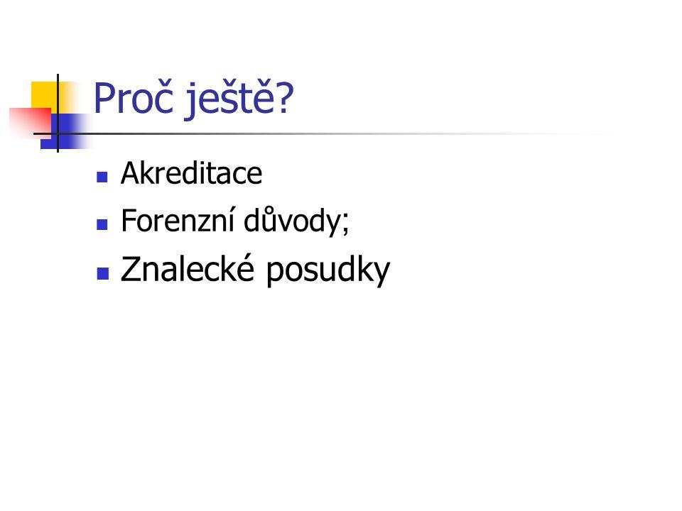 Standardní složky dokumentace 1.Administrativní (pouze parametrická) 2.