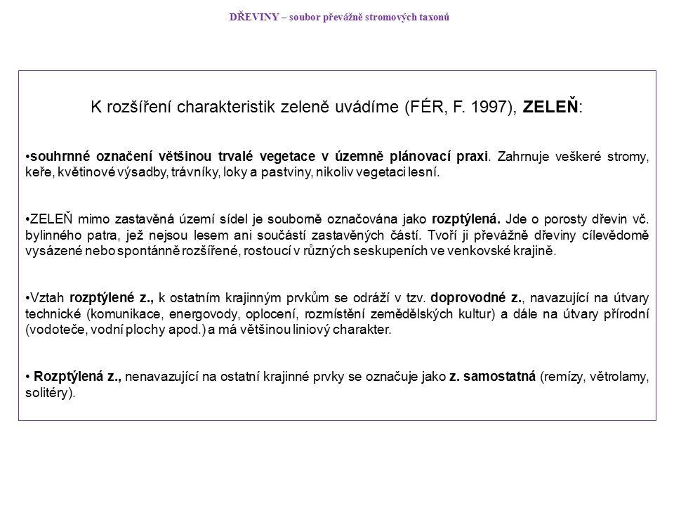 Na samostatných stránkách AOPK ČR byla na konci ledna 2013 zprovozněna webová aplikace – internetová kalkulačka pro oceňování dřevin: http://www.ocenovanidrevin.nature.cz Kalkulačka umožňuje výpočet hodnoty dřevin (stromů i keřů), resp.