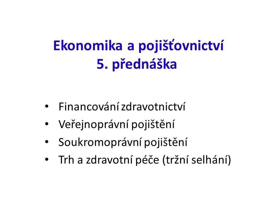 Ekonomika a pojišťovnictví 5.