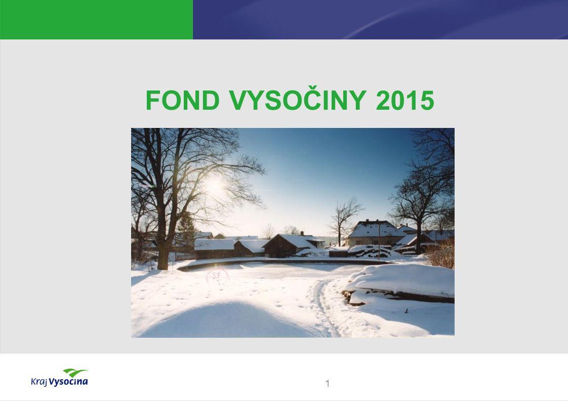1 FOND VYSOČINY 2015