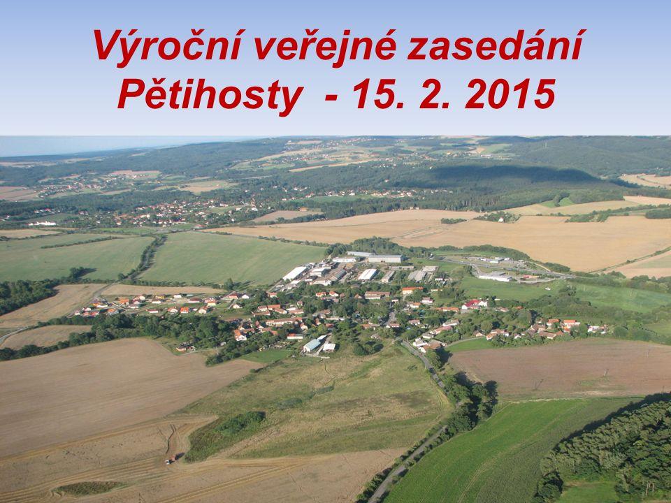 Výroční veřejné zasedání Pětihosty - 15. 2. 2015