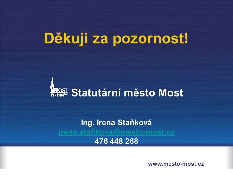 Statutární město Most Ing.