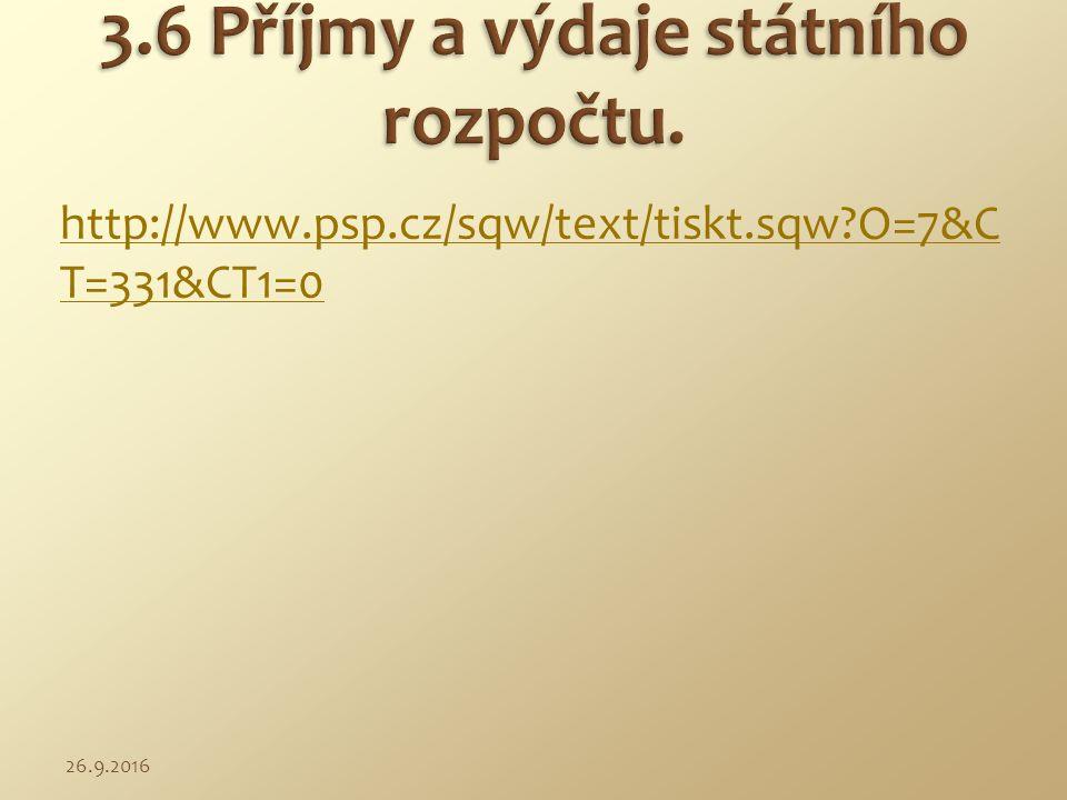 http://www.psp.cz/sqw/text/tiskt.sqw?O=7&C T=331&CT1=0 26.9.2016