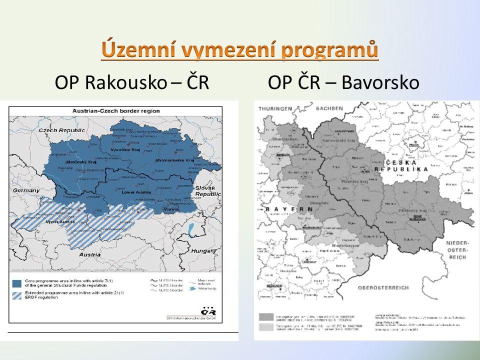 OP Rakousko – ČROP ČR – Bavorsko