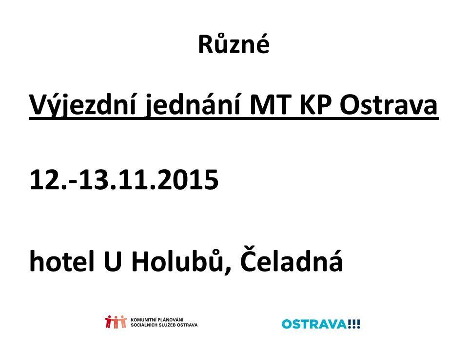 Různé Výjezdní jednání MT KP Ostrava 12.-13.11.2015 hotel U Holubů, Čeladná