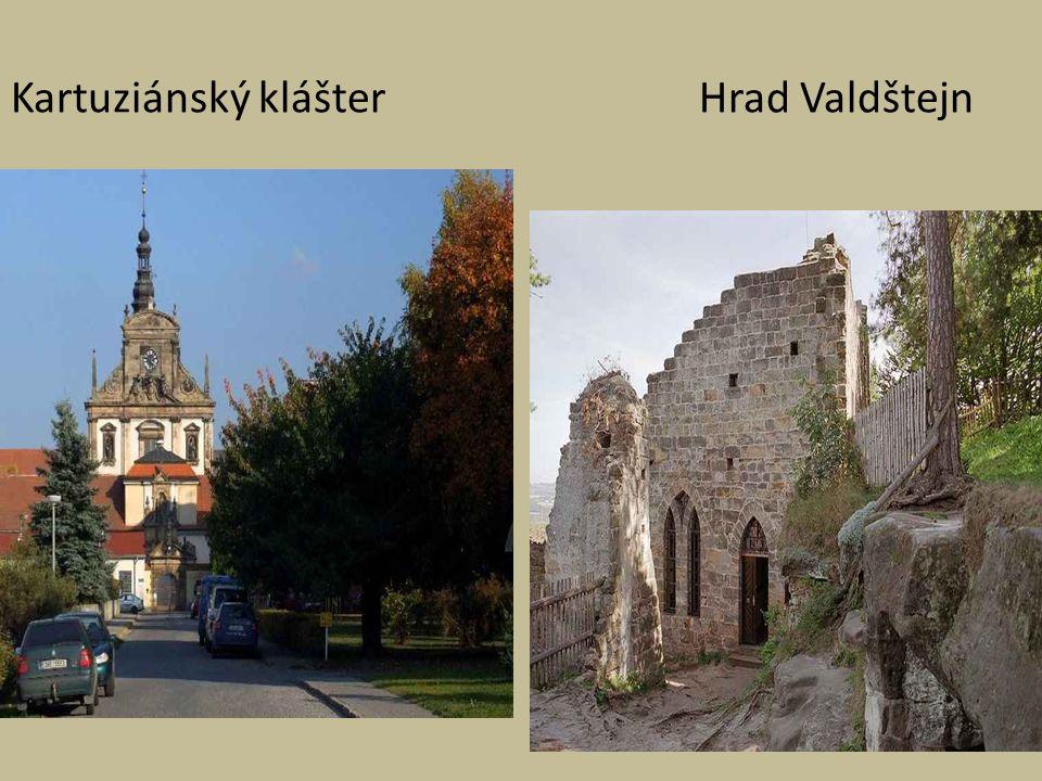 Kartuziánský klášter Hrad Valdštejn