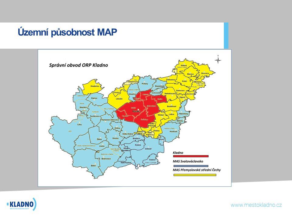 Územní působnost MAP