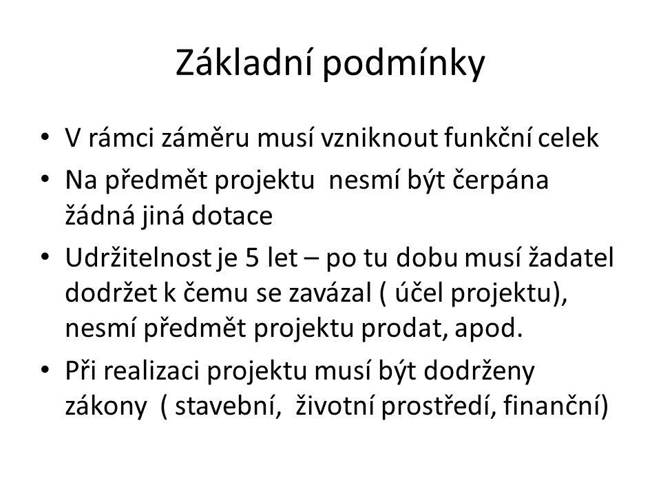 Základní podmínky II.