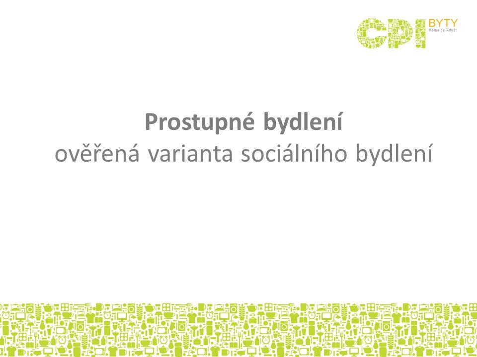 CPI BYTY se programu prostupného bydlení účastní v Litvínově (od roku 2009) ve 3.