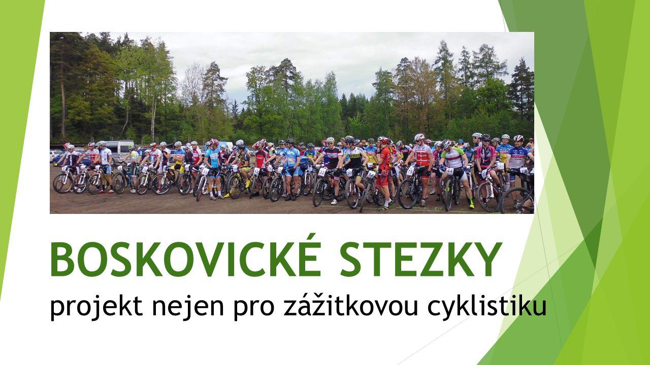 BOSKOVICKÉ STEZKY projekt nejen pro zážitkovou cyklistiku