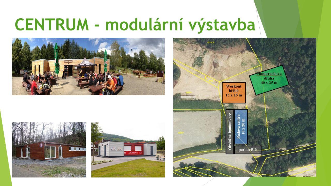 CENTRUM - modulární výstavba
