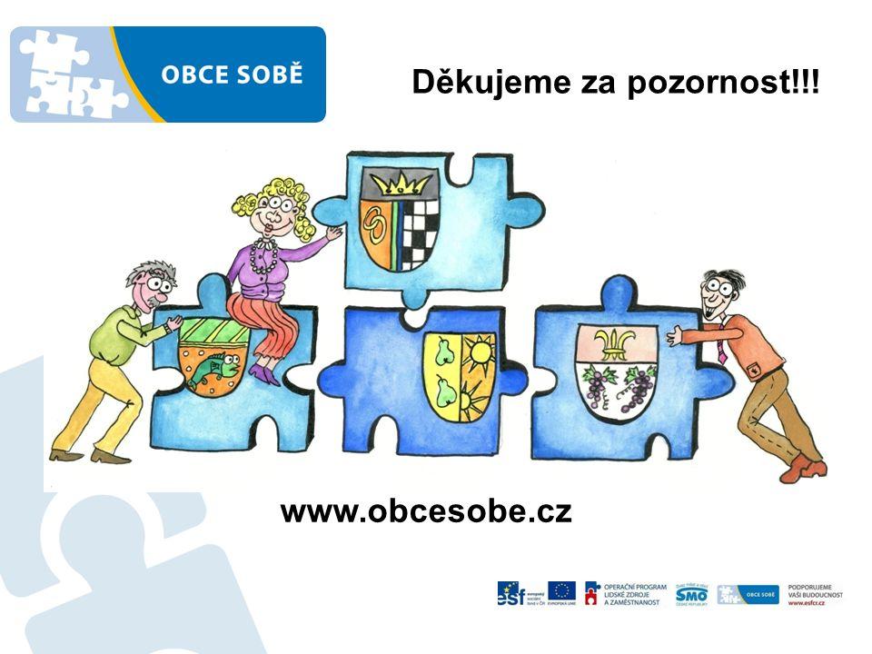 Děkujeme za pozornost!!! www.obcesobe.cz