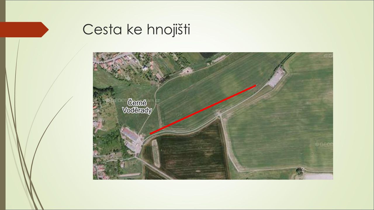Cesta ke hnojišti