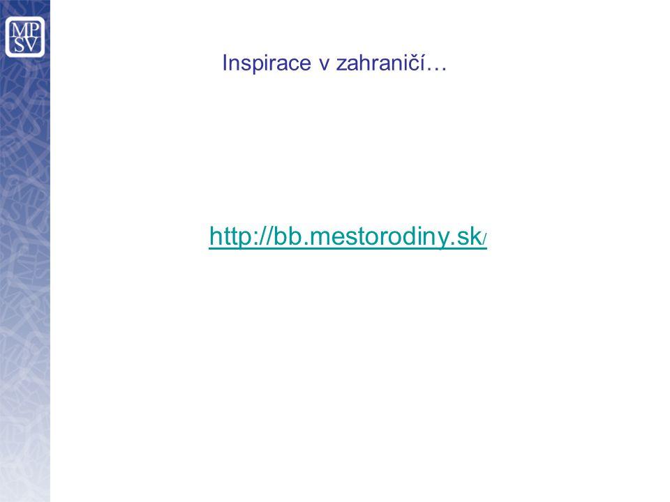 Inspirace v zahraničí… http://bb.mestorodiny.sk /