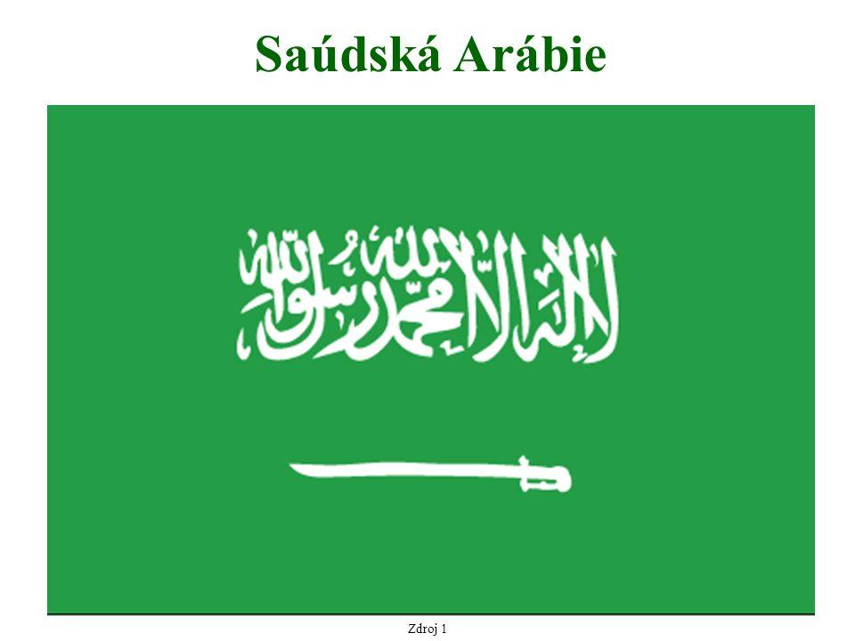 Zdroj 1 Saúdská Arábie