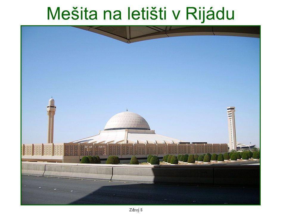 Mešita na letišti v Rijádu Zdroj 8