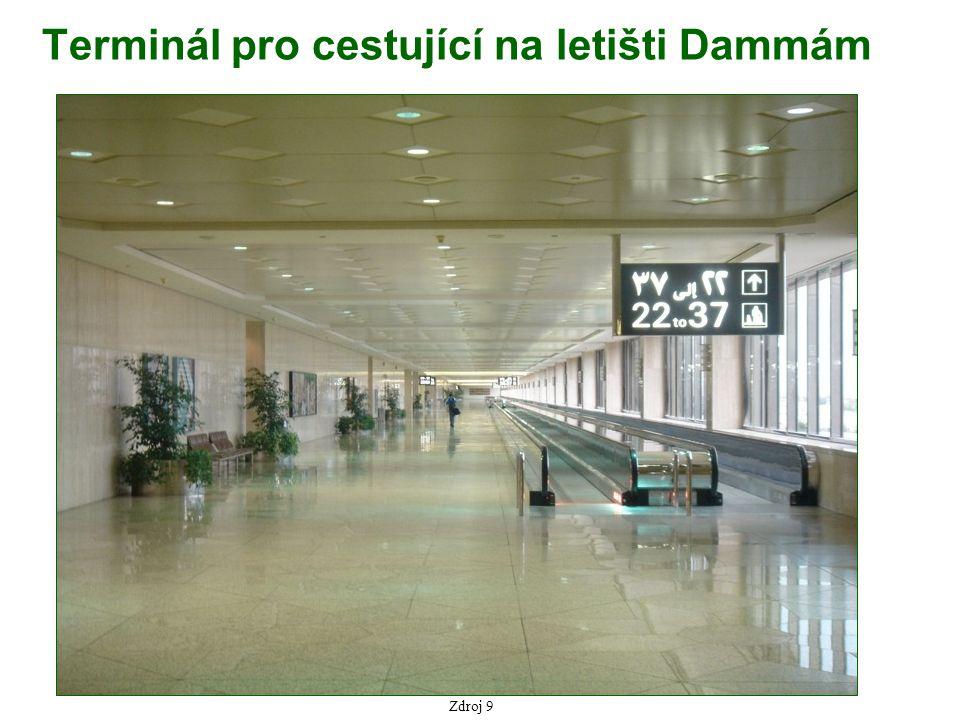 Zdroj 9 Terminál pro cestující na letišti Dammám