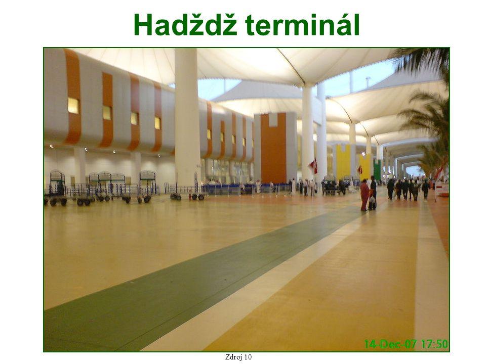 Hadždž terminál Zdroj 10
