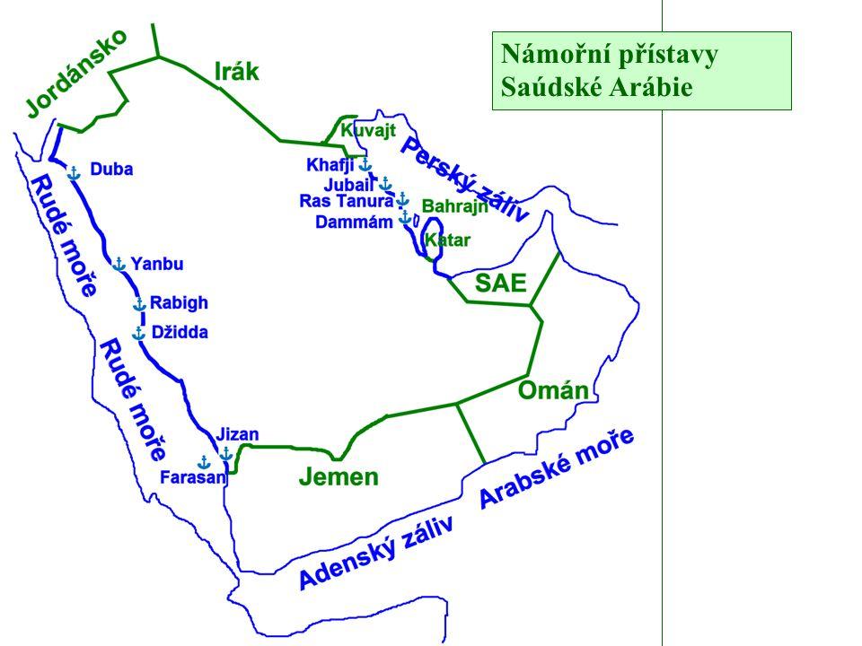 Námořní přístavy Saúdské Arábie