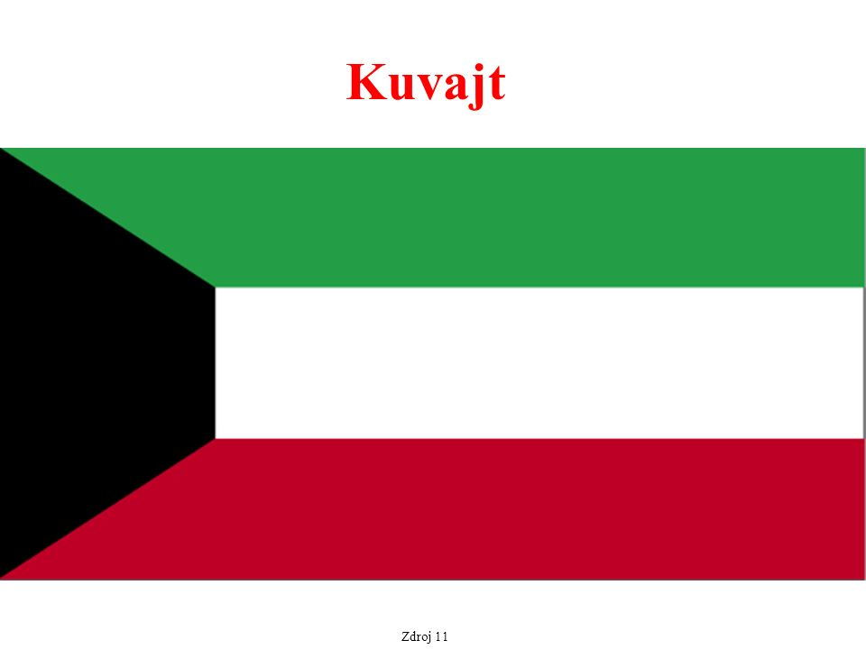 Zdroj 11 Kuvajt