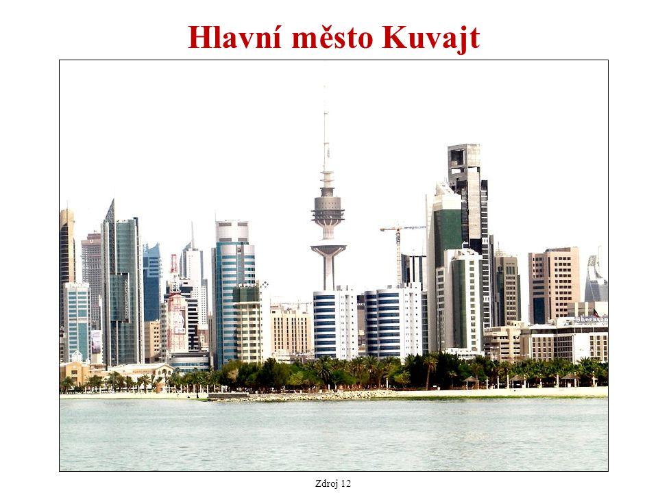 Hlavní město Kuvajt Zdroj 12