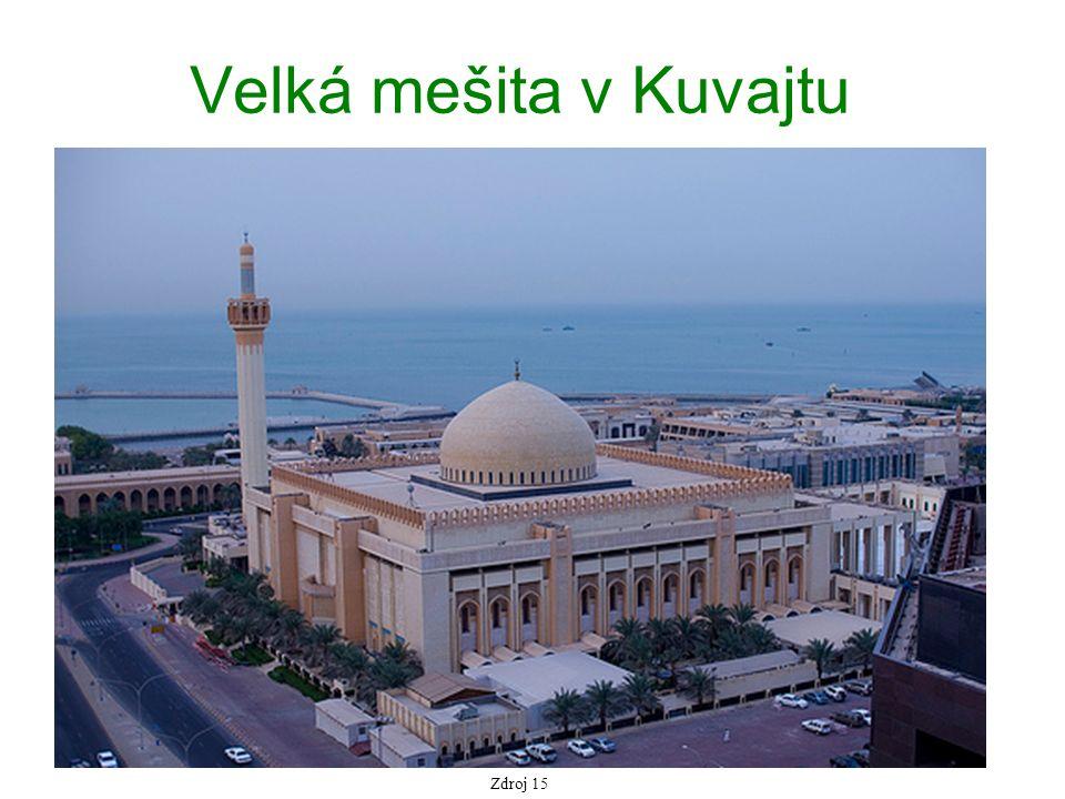 Velká mešita v Kuvajtu Zdroj 15