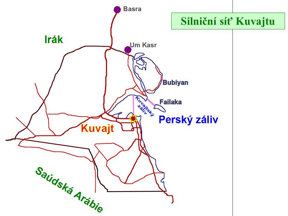 Silniční síť Kuvajtu