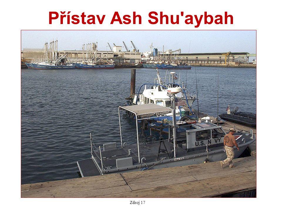 Přístav Ash Shu aybah Zdroj 17